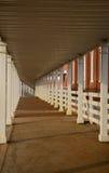 utbildning till walkwayen Arkivfoto