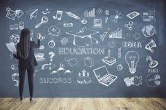 Utbildnings- och kunskapsbegrepp arkivfoto