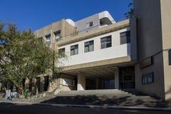 Utbildningsbyggnaden av medborgaren Yang Ming University royaltyfri fotografi