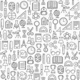 Utbildningsmodell vektor illustrationer