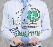 Utbildningssymboler Royaltyfria Bilder