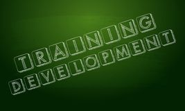 Utbildningsutveckling Arkivfoton