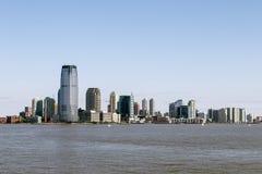 Utbyt stället, nya Jersey City - - ärmlös tröja Fotografering för Bildbyråer