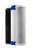 Utbytbara kassetter av filter av vattenrening Royaltyfri Foto