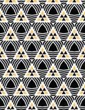 Utdragen triangelgeo för djärv hand S?ml?s bakgrund f?r vektormodell Geometrisk abstrakt illustration för symmetri Moderiktig ret vektor illustrationer