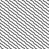 Utdragna diagonala linjer f?r svartvit hand vektor illustrationer