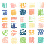 Utdragna texturer stock illustrationer
