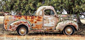 Rusty Dodge Royalty Free Stock Image