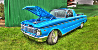 Ute blu di Ford Fotografie Stock