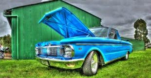Ute blu di Ford Fotografia Stock Libera da Diritti