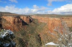 Ute Canyon Imagem de Stock Royalty Free