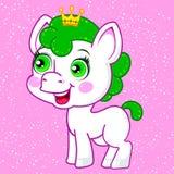 Сute Cartoon Pony Stock Image