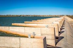 Ute Lake Dam Stock Fotografie