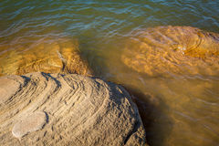 Ute Lake Dam Royalty-vrije Stock Foto's