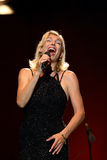 Ute Lemper performs onstage Royalty Free Stock Images