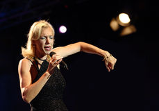 Ute Lemper performs onstage Stock Photos