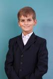 Сute schoolboy Royalty Free Stock Photo