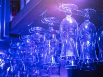 Uteliv för parti för drink för kugge för stång för coctailexponeringsglas Royaltyfria Bilder