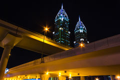 Uteliv i Dubai UAE November 18, 2012 Royaltyfri Fotografi