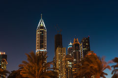 Uteliv i Dubai UAE November 18, 2012 Royaltyfria Foton