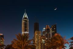 Uteliv i Dubai UAE November 18, 2012 Arkivbild
