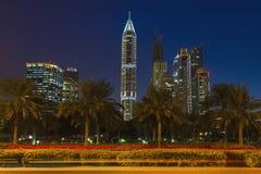 Uteliv i Dubai UAE November 18, 2012 Arkivbilder