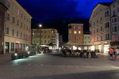 Uteliv i Innsbruck Royaltyfria Foton