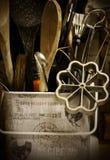 Utencils de la cocina Foto de archivo libre de regalías