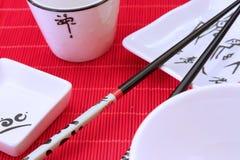 Utensílio tradicional do restaurante japonês Imagem de Stock
