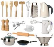 Utensílios da cozinha Fotografia de Stock Royalty Free