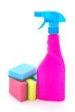 Utensílios da limpeza Foto de Stock Royalty Free
