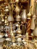Utensílios de bronze Imagem de Stock Royalty Free