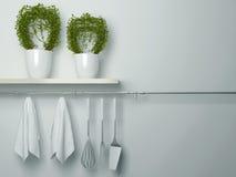 Utensílios de cozimento da cozinha Imagem de Stock Royalty Free