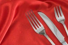 Utensílios de mesa. Fotografia de Stock