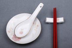Utensílios de mesa chineses Fotos de Stock Royalty Free