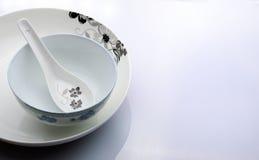 Utensílios de mesa do estilo chinês Imagem de Stock Royalty Free