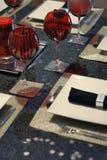 Utensílios de mesa modernos Foto de Stock