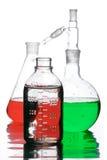 Utensílios do laboratório Imagem de Stock
