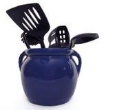 Utensílios modernos da cozinha Fotos de Stock Royalty Free