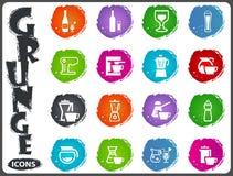 Utensílios para a preparação das bebidas Fotografia de Stock Royalty Free