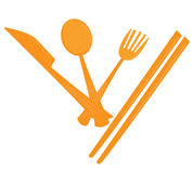 Utensil. Illustration Royalty Free Stock Photo