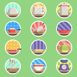 Utensil Flat Icon Royalty Free Stock Images