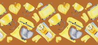 Utensil for kitchen. Utensil  for kitchen. Seamless pattern for coocking book, textil with  hand draw utensil  for kitchen stock illustration