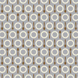 Utensil Pattern Background. Stock Photos