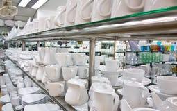 Utensil shop Royalty Free Stock Photos