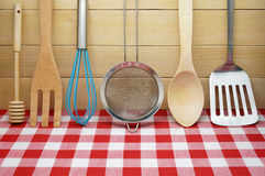 Utensili da cucina Fotografia Stock