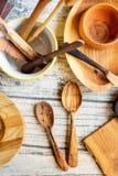 Utensili di legno di Reparing Fotografia Stock