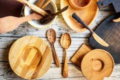 Utensili di legno di Reparing Fotografie Stock Libere da Diritti