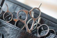 Utensili per il taglio dei capelli Immagini Stock