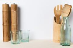 Utensili vuoti della cucina Fotografia Stock Libera da Diritti